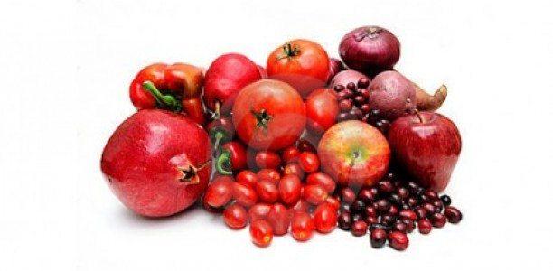 Kirmizi_Meyve ve sebzeler