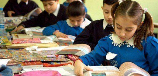Türkmen Okullarına Okul Malzemesi Dağıtıldı