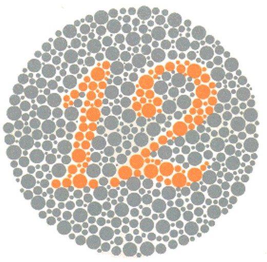 renk körlüğü testi1