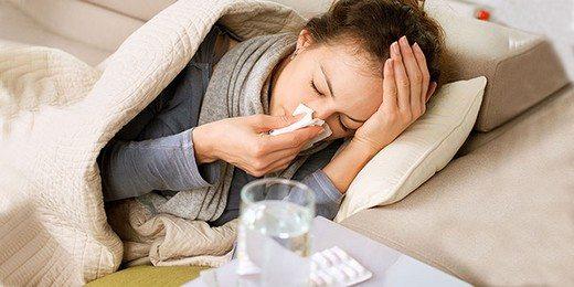 kadin-soguk-grip-nezle