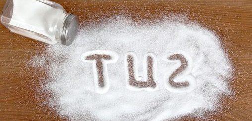 tuz tüketimi ile ilgili görsel sonucu