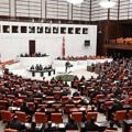 Turkish Parliament convene for a debate in Ankara