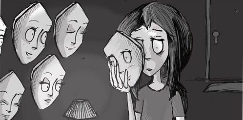Maskeli-depresyon-maske-uzuntu-gizlenme