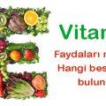 vitamin-e-besin-yemek-meyve-sebze